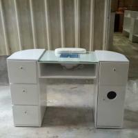 Quality Beauty Nail Salon Equipment Wholesale Nail Manicure Table with Vacuum Cheap for sale