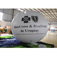 Quality White Inflatable Marketing Products Advertising , PVC Inflatable Ball Off Site Layout for sale