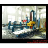 Automatic End Face Milling Machine 6KW 1200mm * 1500mm for H Beam / Box Beam Line Manufactures