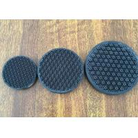 Cooking Gas Infrared Honeycomb Ceramic Plate , Round Shape Porous Industrial Heating Plate Manufactures
