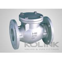 China JIS Swing Check Valve CF8 CF8M SCS13A SCS14A Flanged Damper Available on sale