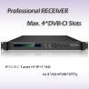 RSR1114 DVB-T2 TO ASI&IP Professional Receiver IRD UDP/IPTV Streaming Output Manufactures