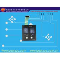 Electronic Lock Touch LED Membrane Switch With Glossy Window Manufactures