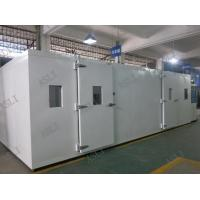 Buy cheap Water Cooling Walk In Stability Chamber , Stability Chamber Validation AC 380V from wholesalers