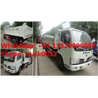 Quality 2017s new cheapest price dongfeng 4*2 LHD 3-5tons dump tipper truck for sale, factory sale dongfeng LHD tipper truck for sale