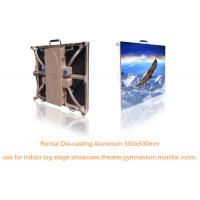 Synchronous RGB SMD Led Display Cabinet P4.81 / P5.95 / P6.25 , Super Thin