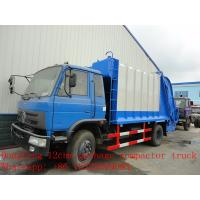 high quality dongfeng garbage refuse garbage truck for sale, hot sale best price dongfeng compacted garbage truck Manufactures