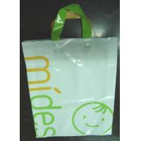 Quality Clothes Packaging Soft Loop Handle Bag With Customized Logo / Retail Shopping Bag for sale