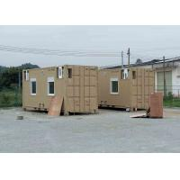 Movable Custom Shipping Container House Site Camp North American Standard Manufactures
