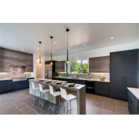 French modern custom high gloss kitchen cabinet Manufactures