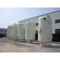 Custom Vertical Vacuum Receiver Tank , Stainless Steel Vacuum Storage Tanks Manufactures