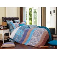 Customized Color 4 Piece Bedding Set , Manly Bedroom Bedding Sets Manufactures