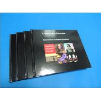 Commercial Black glossy paper Hardcover Coffee Table Book Printing Services Manufactures