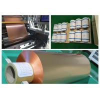 0.015mm Rolled Copper Foil For Parallel Hybrid Electric Vehicle Battery Manufactures