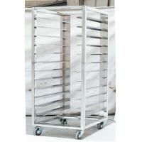 Kitchen Stainless Steel Catering Equipment / Bun Pan Racks 1.0mm For Restaurant Manufactures