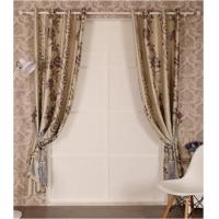Buy cheap Printed Black Out Window Curtain from wholesalers