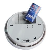 Battery Operated Stand Alone Photoelectric Smoke Detector Fire Alarm for Home Security System Manufactures