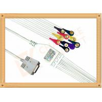 Buy cheap Burdick EK 10 Ecg Monitor Cable One Piece Ecg Cable 10 Leadwires Snap IEC from wholesalers