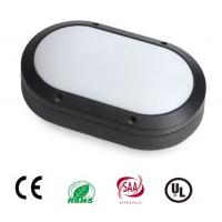 Aluminum Housing Oval Bulkhead Security Lighting Outdoor 85-285V 20W 1600lm Osram Chip  Driver Manufactures