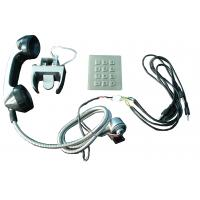 Sliver Alloy weather proof phones Sets With Numeric Keypad for kiosk Manufactures