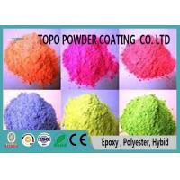 Buy cheap RAL 2000 Yellow Orange Chemical Resistant Pure Polyester Powder Coating from wholesalers