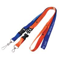 Split Ring Nylon Lanyard Flash Drive 128MB - 512MB Capacity For Gift Manufactures