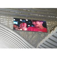 Waterproof  Outdoor Video Wall   LED Screen  Fixed Installation With High Stability Manufactures