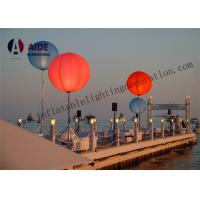 Large Led Outdoor Advertising Inflatables White Tripod Ball Stand Light Balloon Manufactures
