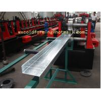Custom Made C / Z Shape Automatic Changable Purlin Roll Forming Machine Hydraulic Punching Hole Manufactures