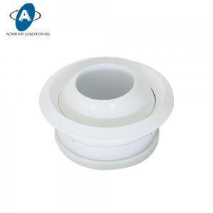 Air Conditioning Aluminum Round Eyeball Jet Nozzle Diffuser Manufactures
