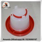 Poultry Farm White Plastic Chicken Waterer & Chicken Drinker & Day Old Chicken Drinker Manufactures