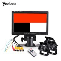 DVD Headrest Monitor Bus Video Systems 24V Car Camera 4 Pin 7 Inch Monitor Manufactures