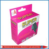 Hanging Tab Custom CMYK Full Color Offset Print Paper Packaging Box Manufactures