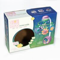 Clear Plastic Window Cosmetics Corrugated Packaging Box Custom Print Color Manufactures