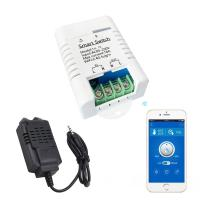 WiFi Smart Switch Temperature Humidity Monitor Kit With Amazon Alexa Google Home Voice Control Manufactures