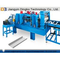 China Automatic Adjustment Size Cable Tray Roll Forming Machine For 100 - 800mm Width Profiles on sale