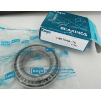 Open Steel Cage KOYO Taper Roller Bearing Single Row Bearings LM67048/10 TIMKEN Manufactures