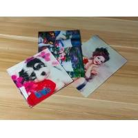 Manufacturer Price 100LPI lenticular Plastic Cards Offset Printing 3D business Cards with strong lenticular effect Manufactures