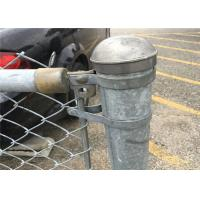 China Galvanized  / Pvc Coated Temporary Chain Link Mesh Fencing Removable Fence on sale
