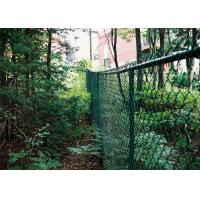 50*50MM PVC Coated Galvanized Chain Link Fence Manufactures