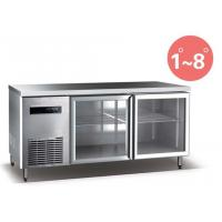 Quality Refrigerated Work Table For Kitchen 660L Commercial Refrigerator Freezer R134a for sale