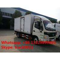 Foton Aumark 4*2 3-5tons refrigeration van truck for sale, best quality 5tons Foton brand cold room truck for sale Manufactures