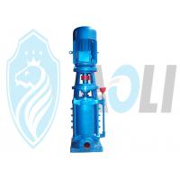 China Electric Multistage Vertical Centrifugal Pump , Cast Iron Water Suction Pump on sale