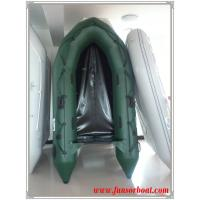 Chinese inflatable boat for 4 person 0.9mm PVC Plywood floor Manufactures