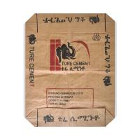 Water Resistant PP Woven Sack Bags With Valve , Recycled Cement Bags 50kg Capacity