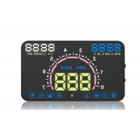 E350 Hud Windshield Speedometer Display , Overspeed Alarm Hud Car Head Up Speed Display Manufactures