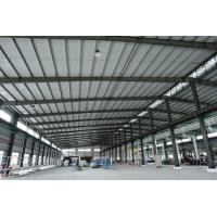 Prefabricated Steel Building Space Stadium Framework Q235B , Q345B Grade Manufactures