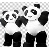 PVC Customized Inflatable Blow Up Animals Pandas Shaped Funny Inflatable Costumes Manufactures