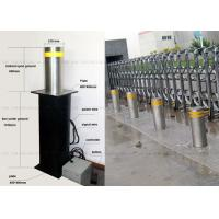 Anti - Terrorist Automatic Retractable Bollards Removable Reflective Flexible Manufactures