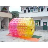 China Amusement Park Inflatable Water Floated Roller Toy For Summer Playing Water Games on sale